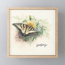 Swallowtail Study Framed Mini Art Print