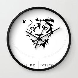 Vida & Life Wall Clock