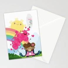 Cotton Candy can save the world!!! Stationery Cards