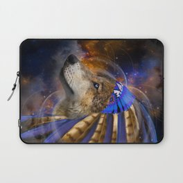 Fight For What You Love (Chief of Dreams: Wolf) Tribe Series Laptop Sleeve