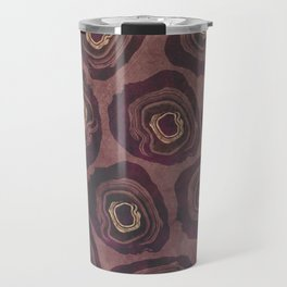 Aubergine Geode Travel Mug