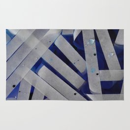 water stripes Rug