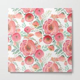 Floral pattern 5 Metal Print