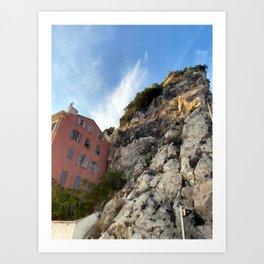 French Riviera Nice Art Print
