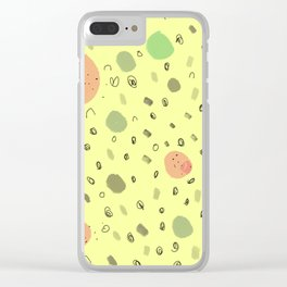 Sunday, Funday Clear iPhone Case