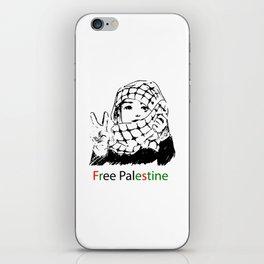 Freedom for Palestine iPhone Skin