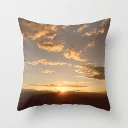 Kelowna Sunset Throw Pillow