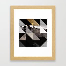 u2's the joshua tree triangles Framed Art Print