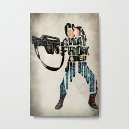 Ellen Ripley from Alien Metal Print