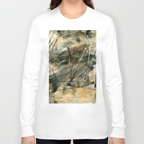 Silver and Gold Long Sleeve T-shirt