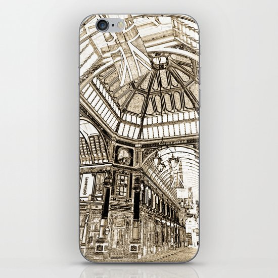 Leadenhall Market London iPhone & iPod Skin