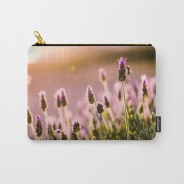 Lavender at Sunrise Carry-All Pouch