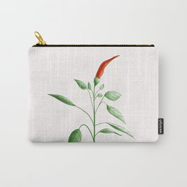 Little Hot Chili Pepper Plant Carry-All Pouch