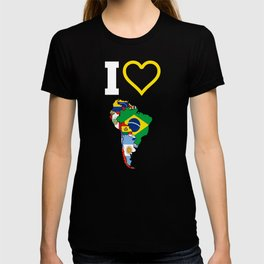 The Love Of South America T-shirt