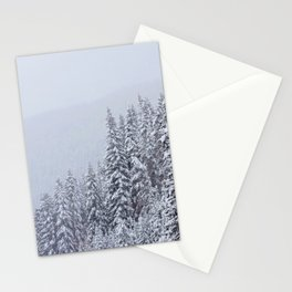 Snowy Vail Stationery Cards