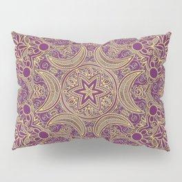 Boho Chic Bordo Pillow Sham