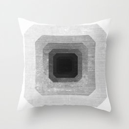 metal polygon Throw Pillow