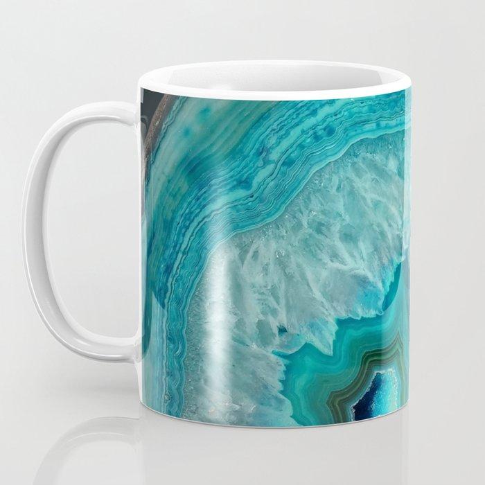 Teal Agate Coffee Mug