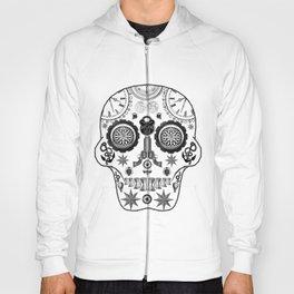 Steampunk Sugar Skull Hoody