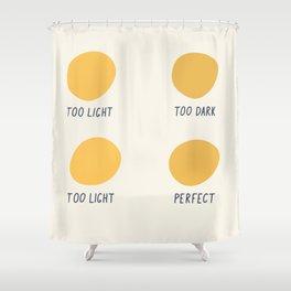 Decisions decisions color dots artwork Shower Curtain