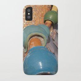 Gaudì roofs iPhone Case