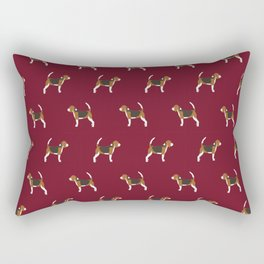 Beagle pattern beagle design cute beagle pillow beagle gifts beagle phone case Rectangular Pillow