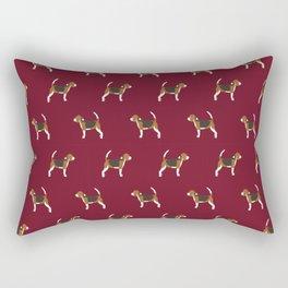 Beagle pattern beagle design cute beagle pillow beagle gifts beagle phone case Rectangular Pillow