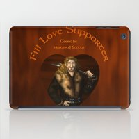 fili iPad Cases featuring Fili Love Supporter by wolfanita