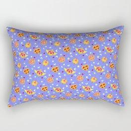 Sailor Moon Brooches Pattern - Blue / Sailor Moon Rectangular Pillow