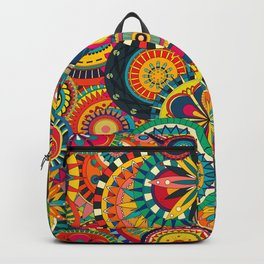 Funky Retro Pattern Backpack