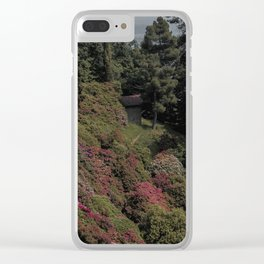 Flowers and trees Clear iPhone Case