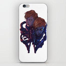 Lara and Leon iPhone Skin