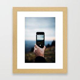 Shoot through Framed Art Print