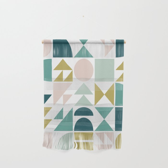 Simple Geometry Shapes Wall Hanging