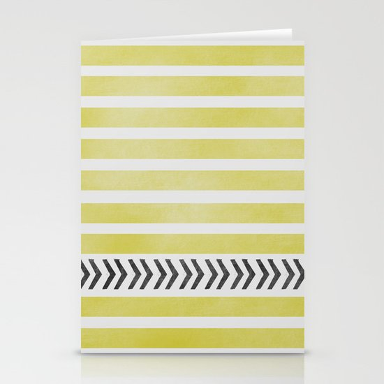 STRIPES AND ARROWS Stationery Cards