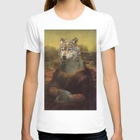 furry T-shirts featuring Furry Monnalisa  by Johnny Cobalto