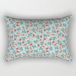 Pretty Swe*ry: Fuckity Fuck Fuck Rectangular Pillow