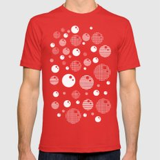 Bubblemagic - Red SMALL Red Mens Fitted Tee