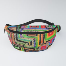Labyrinth Painting by George Plath  Fanny Pack