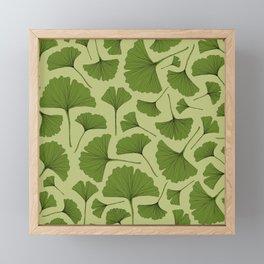 GINKGO LEAF Framed Mini Art Print