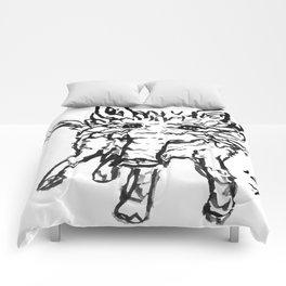 "Tapir ""Baku"" Japanese Ink Painting Comforters"