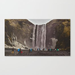 SKOGAFOSS ICELAND Canvas Print