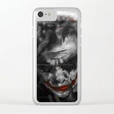 Joker Art Clear iPhone Case