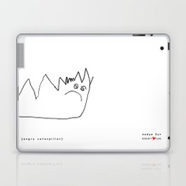[angry caterpillar] - nadya 3 yr Laptop & iPad Skin