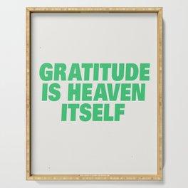 Gratitude Serving Tray
