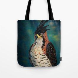 The ornate hawk-eagle is a bird of prey. Tote Bag