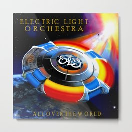 ELO ALBUM COVER Metal Print