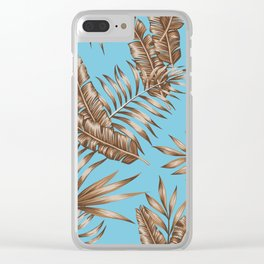 Wild Tropicals Clear iPhone Case
