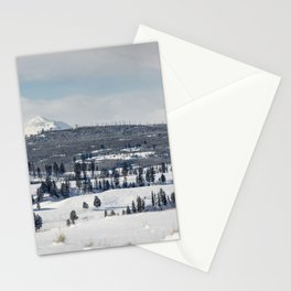 Gallatin Mountains Stationery Cards