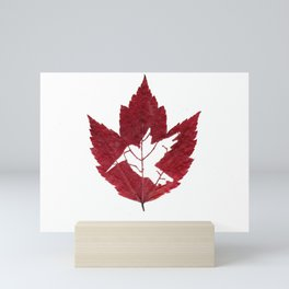 Hummingbird Leaf Mini Art Print